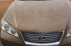 Well maintained gold 2007 Lexus ES at mileage 70 for sale