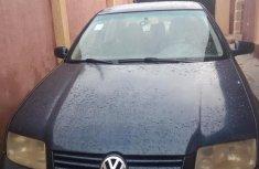 Best priced used blue 2001 Volkswagen Jetta at mileage 1,100