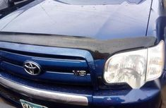 Used blue 2006 Toyota Tundra car automatic at attractive price