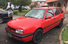 Used red 1997 Volkswagen Golf manual at mileage 17,954 for sale