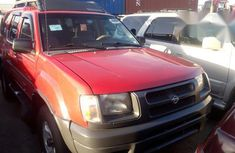 Need to sell red 2001 Nissan X-Trail suv at price ₦1,420,000