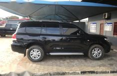 Sell black 2010 Toyota Land Cruiser automatic in Ikeja