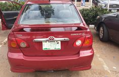 Clean Registered Toyota Corolla s Sport 2003 Model