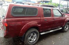 Nissan Frontier 2003 Red for sale