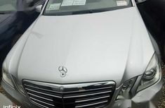Tokunbo Mercedes-Benz E550 2010 Silver  color for sale