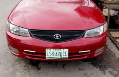 Toyota Solara 2000 Red for sale