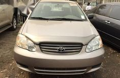 Need to sell high quality gold 2002 Toyota Corolla automatic at mileage 50,000