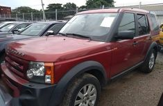 Land Rover LR3 2007 HSE Red color for sale
