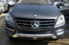 Mercedes-Benz M Class ML350 2012 Gray for sale