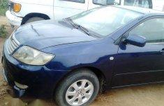 Toyota Corolla 2002 1.4 Sedan Blue for sale