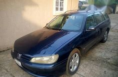 Sell well kept blue 2000 Peugeot 406 manual at mileage 120,000