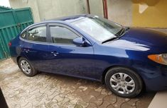 Hyundai Elantra 2008 1.6 GLS Automatic Blue color for sale