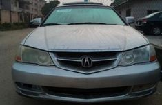 Sell well kept grey/silver 2002 Acura TL sedan at price ₦500,000