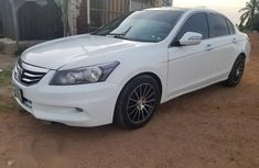 Clean and neat white 2010 Honda Accord sedan at price ₦1,950,000 in Minna