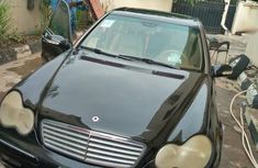 Authentic black 2001 Mercedes-Benz C320 automatic in good condition