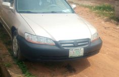 Used gold 2002 Honda Accord automatic for sale at price ₦600,000