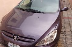 Well maintained purple 2003 Peugeot 307 for sale at price ₦500,000 in Lagos