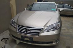 Used gold 2011 Lexus ES automatic at mileage 85,000 for sale