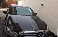 Mercedes-Benz E200 2014 Black for sale