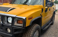 Hummer H2 2008 Yellow for sale
