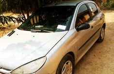 Best priced grey 2000 Peugeot 206 sports / coupe manual