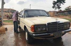 Sharp white 1984 Mercedes-Benz 200 sedan manual for sale