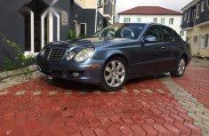 Mercedes-Benz E350 2008 Blue for sale