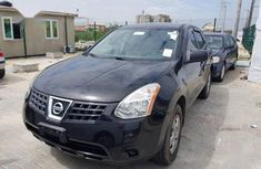 Nissan Rogue S AWD 2009 Black for sale
