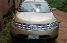 Sell cheap gold 2004 Nissan Murano at mileage 156,230 in Lagos