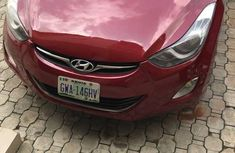 Hyundai Elantra GLS 2012 Red for sale