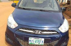 Sell used blue 2005 Hyundai i10 sedan at price ₦485,000