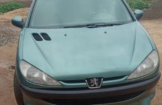 Green 2003 Peugeot 204  estate manual for sale at price ₦750,000