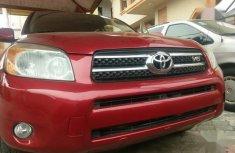Toyota RAV4 Limited V6 2008 Red for sale