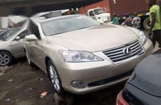 Used gold 2011 Lexus ES automatic at mileage 1 for sale