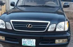 Used black 2005 Lexus LX automatic at mileage 45,000 for sale
