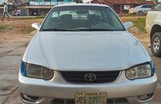 Toyota Corolla 2000 X 1.3 Automatic Silver for sale