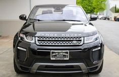 Need to sell black 2018 Land Rover Range Rover Evoque at mileage 12,000 in Abuja