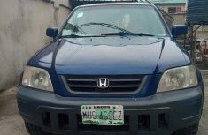 Used blue 1999 Honda CR-V suv for sale at price ₦700,000
