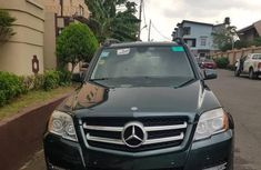 Sell well kept green 2010 Mercedes-Benz GLK suv at price ₦5,650,000