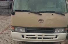Used gold 2005 Toyota Coaster manual for sale at price ₦9,500,000