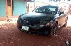 Black 2008 Audi TT manual for sale at price ₦1,200,000 in Makurdi
