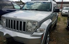 Jeep Liberty 2010 Silver for sale