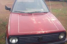 Red 1999 Volkswagen Golf manual for sale in Offa