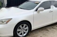 White 2008 Lexus ES for sale at price ₦3,100,000