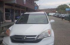 Honda CR-V 2010 White color for sale