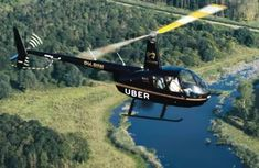 Uber Copter & Uber Air - the brand new helicopter service to beat traffic gridlock