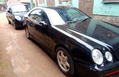 Mercedes-Benz CLK320 2002 Black color for sale