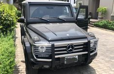 Sell cheap black 2015 Mercedes-Benz G63 suv  automatic at mileage 3,000