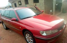 Well maintained red 2004 Peugeot 406 sedan for sale in Kaduna