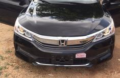 Well maintained black 2017 Honda Accord sedan automatic for sale